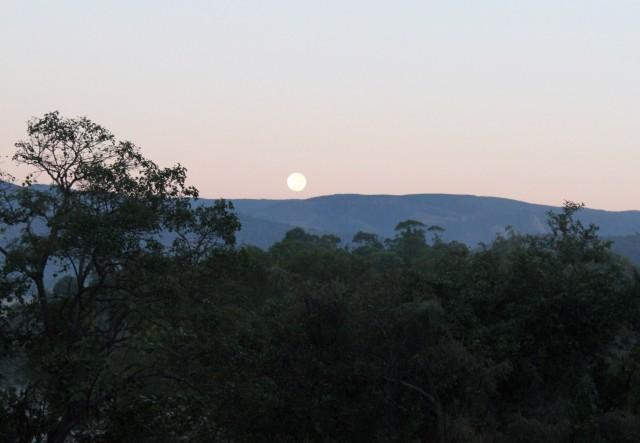 Swazi Moonset